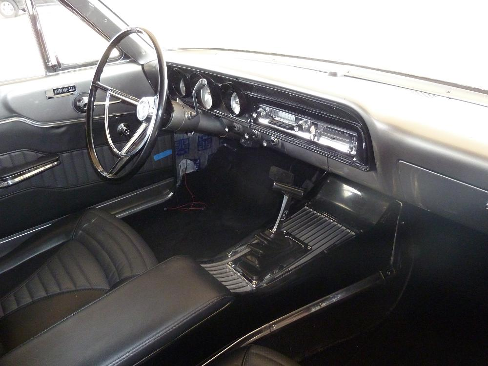New Console with Shifter Installed | 1964 Fairlane